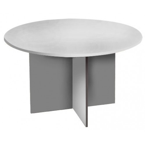 Meeting Table Round White