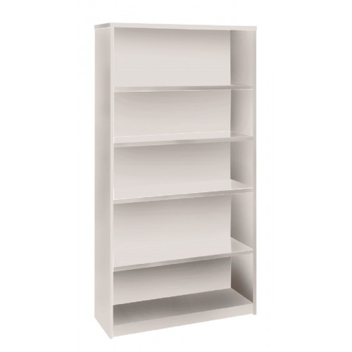 Bookcase in White - 1800mm High