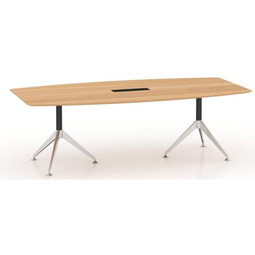 Potenza Boardroom Table 2.4m Birch