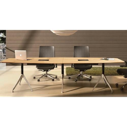Potenza Boardroom Table 3m Birch