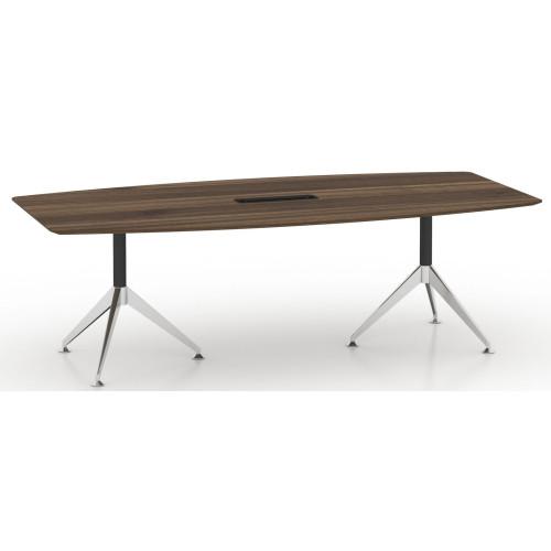 Potenza Boardroom Table 2.4m Sepia