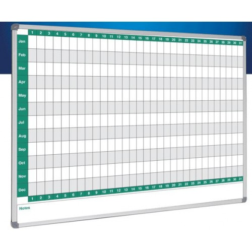 Custom Printed Whiteboard with Standard Frame (Your Logo or Design)