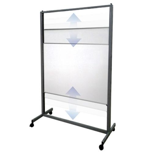 Aspire Vertical Sliding Whiteboard