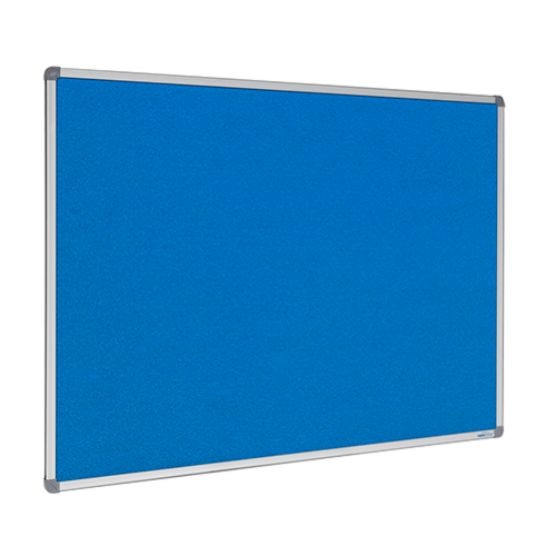 Smooth Velour Framed Pinboard