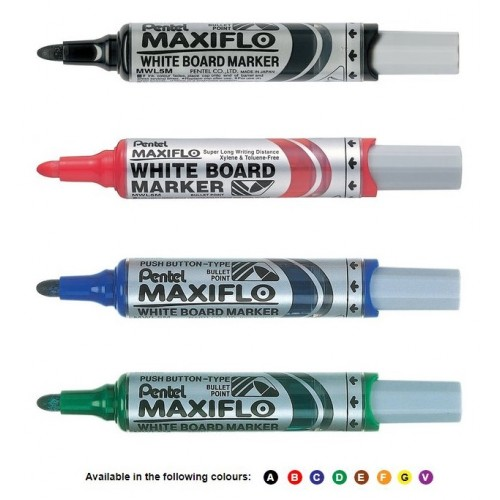 "Pentel Maxiflo ""Pump It!"" For Whiteboards and Glass Boards"