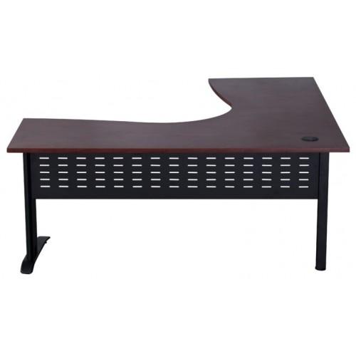 Rapid Manager Corner Desk with Metal Base