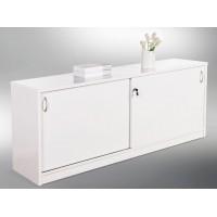Reception Counter Buffet - Gloss White