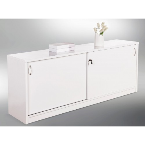 Reception Counter Buffet - Gloss White