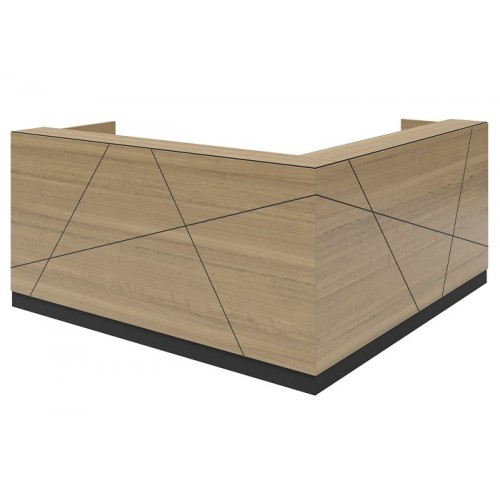 Axis Reception Desk HUGE CHOICE OF COLOURS & CUSTOM SIZES AVAILABLE