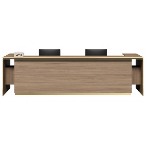 Layla Reception Desk HUGE CHOICE OF COLOURS & CUSTOM SIZES AVAILABLE