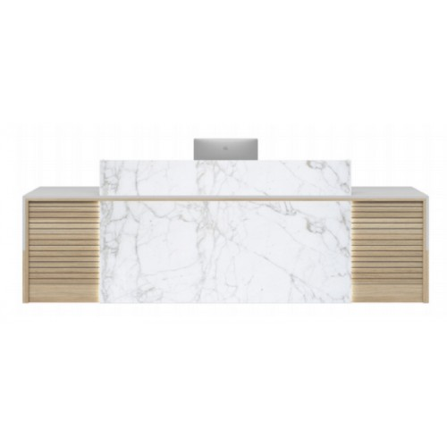 Maddox Reception Desk HUGE CHOICE OF COLOURS & CUSTOM SIZES AVAILABLE