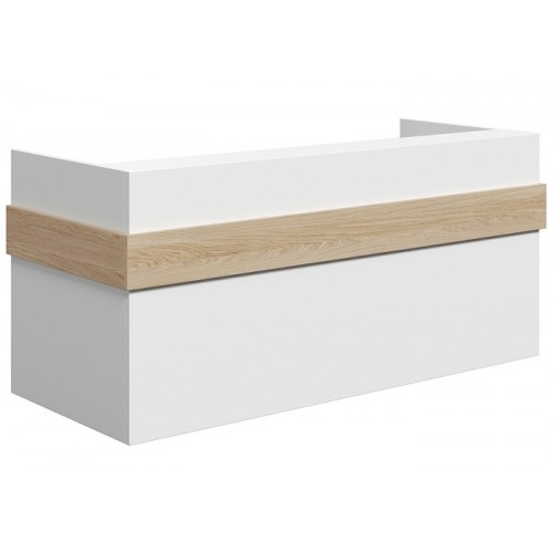 Mies Ribbon Customisable Reception Desk HUGE CHOICE OF COLOURS & CUSTOM SIZES AVAILABLE