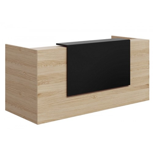 Mies Waterfall Customisable Reception Desk HUGE CHOICE OF COLOURS & CUSTOM SIZES AVAILABLE