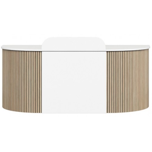Roxi Front Panel Reception Desk CHOICE OF COLOURS & CUSTOM SIZES AVAILABLE