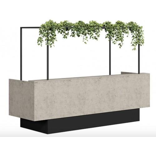 Skye Reception Desk HUGE CHOICE OF COLOURS & CUSTOM SIZES AVAILABLE