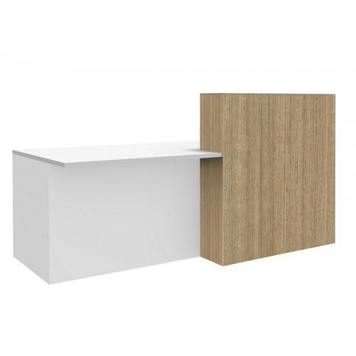 Split Reception Desk HUGE CHOICE OF COLOURS & CUSTOM SIZES AVAILABLE