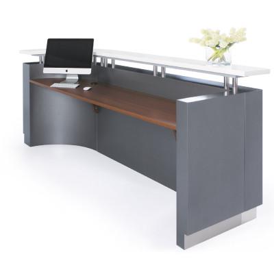 Executive Reception Desk  J-Shape