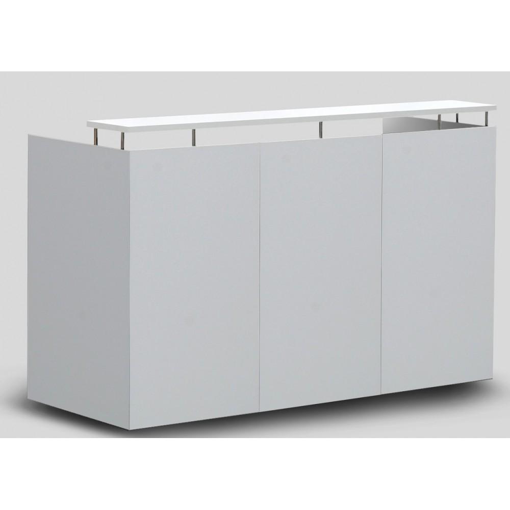 Om Reception Desk White
