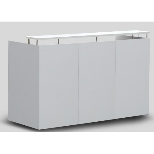 OM Reception Desk White