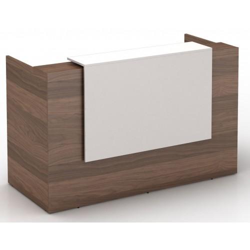 Sorrento Reception Desk Casnan and White