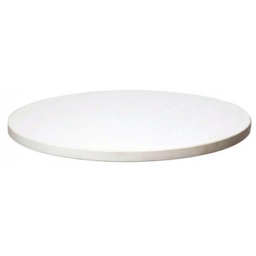 Table Top Round Bright White