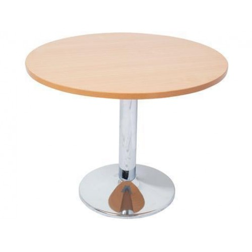 Chrome Base Round Table