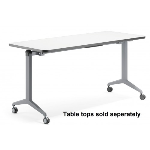 Flip Table Adjustable Silver